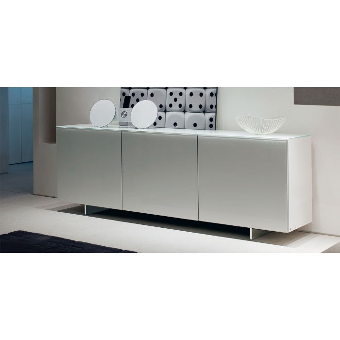 Futura Buffet in white made in Italy by Cattelan Italia