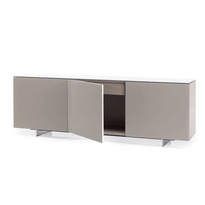 Luxury Italian Buffet with cabinet door open