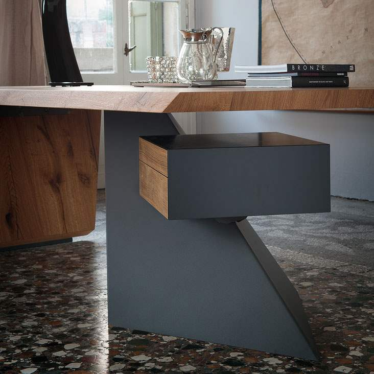artistic drawer of Cattelan Italia desk
