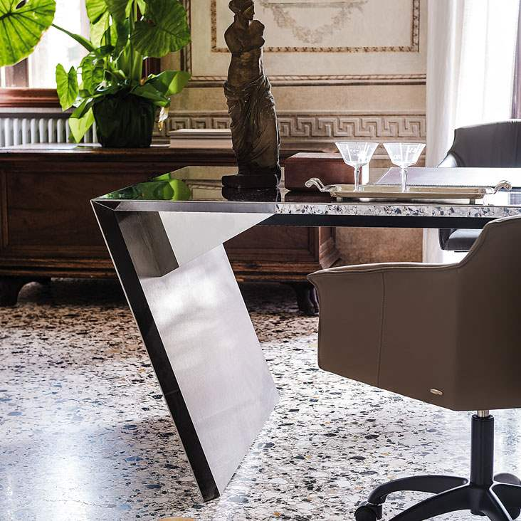 Vega - Executive office  desk  by Cattelan Italia