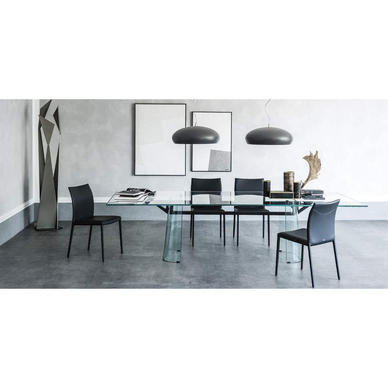 Italian dining table made in Italy by Cattelan Italia