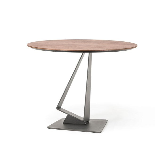 Italian bistro table with wooden top