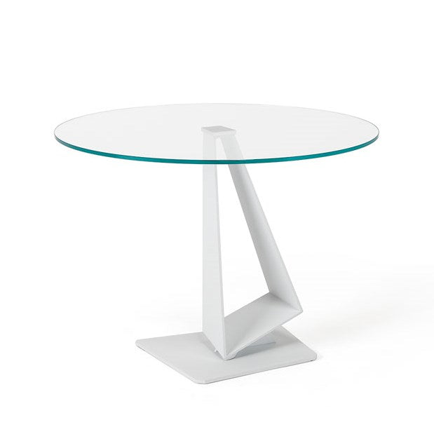 Roger - Italian table with glass top made in Italy by Cattelan Italia