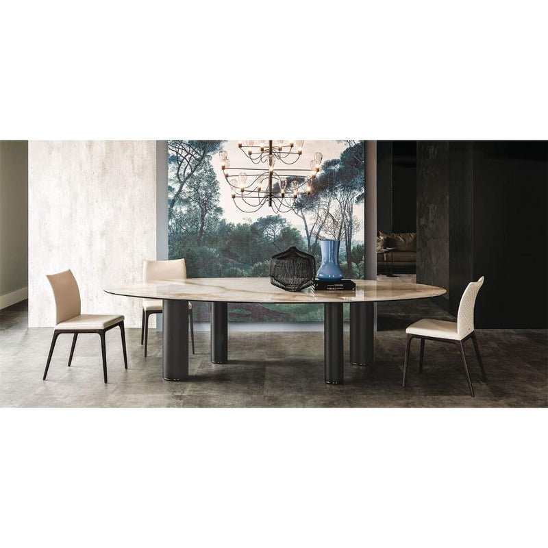 Roll Keramik dining table by Cattelan Italia