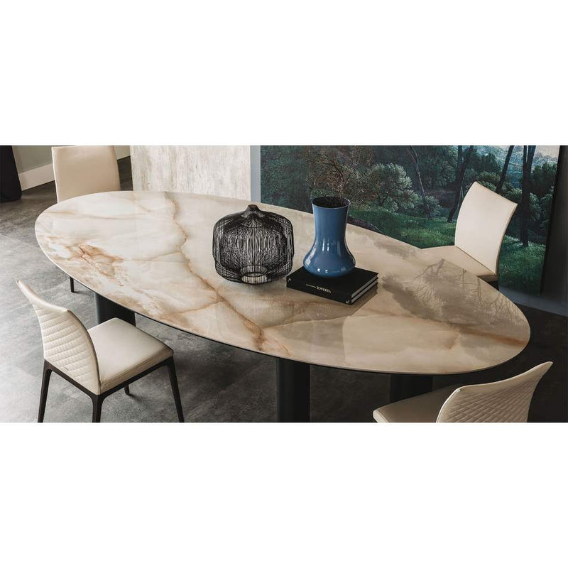 Luxury dining table made in Italy by Cattelan Italia