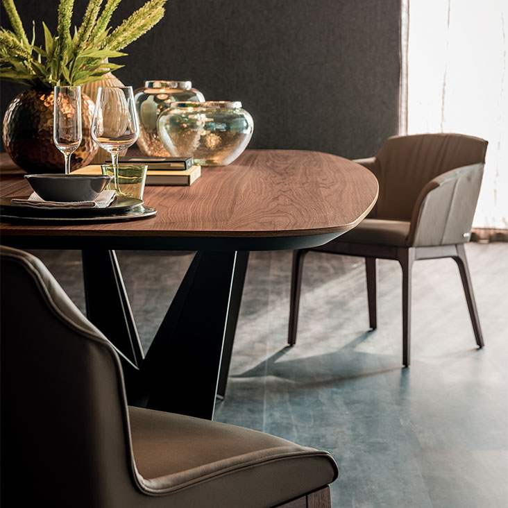 Luxury Italian Dining Table by Cattelan Italia