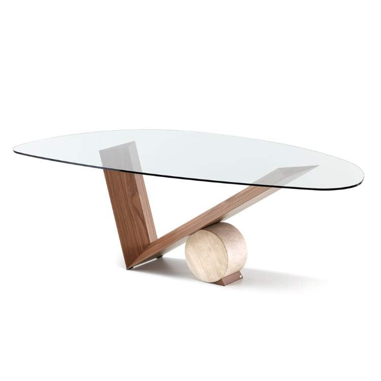 designer italian dining table