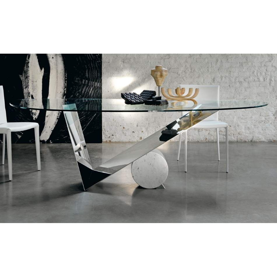 Valentinox - Luxury modern dining  table by Cattelan Italia
