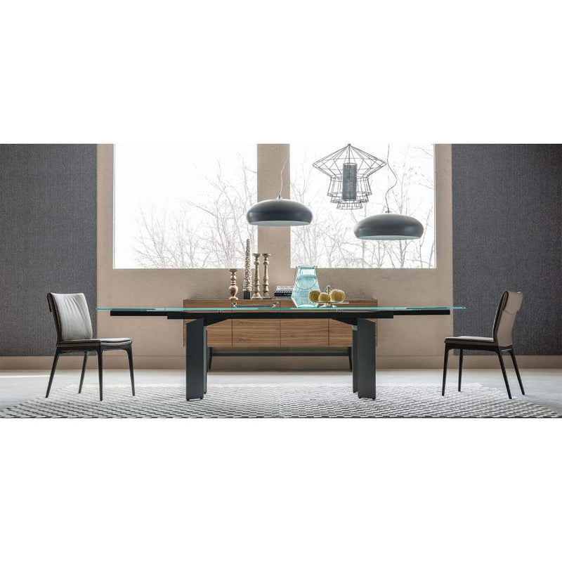 Expandable Italian dining table
