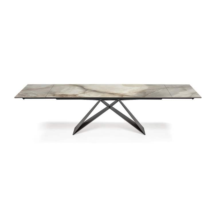 modern Italian expandable dining table