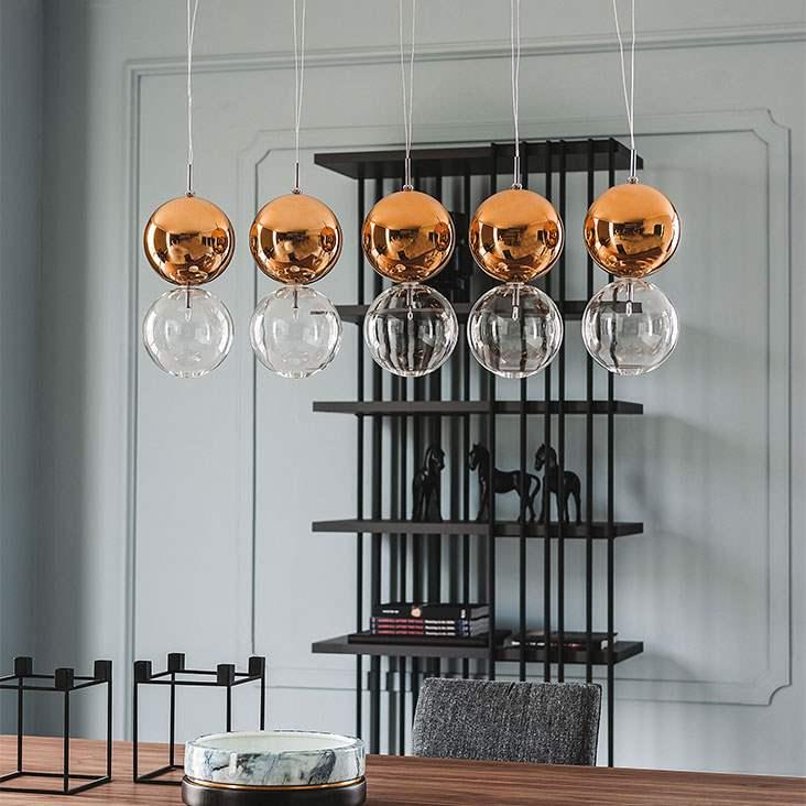 apollo - Modern chandelier by Cattelan Italia