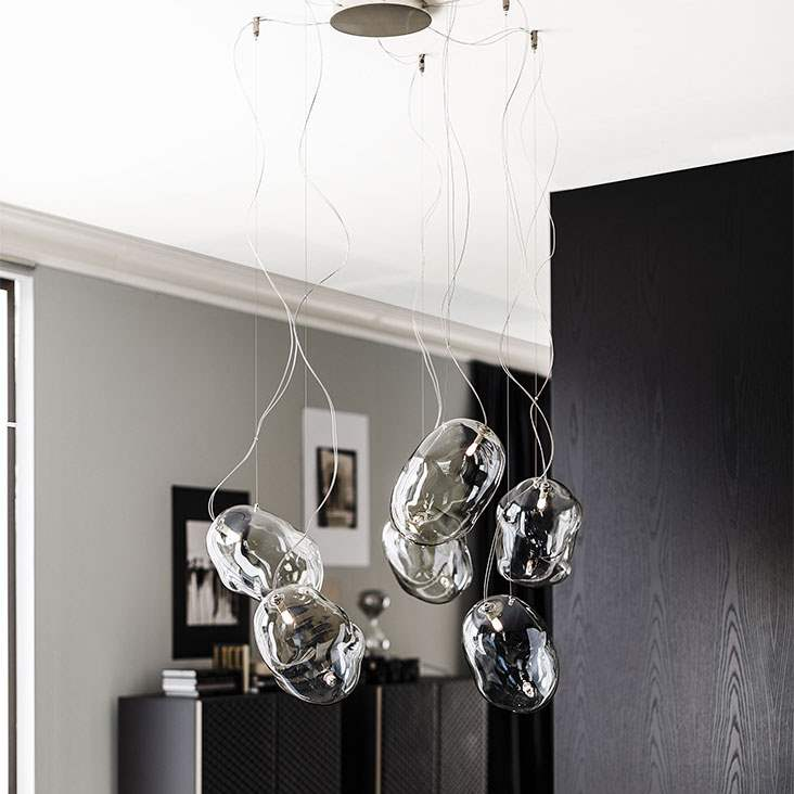 Cloud - Modern Italian ceiling lamp by Cattelan Italia