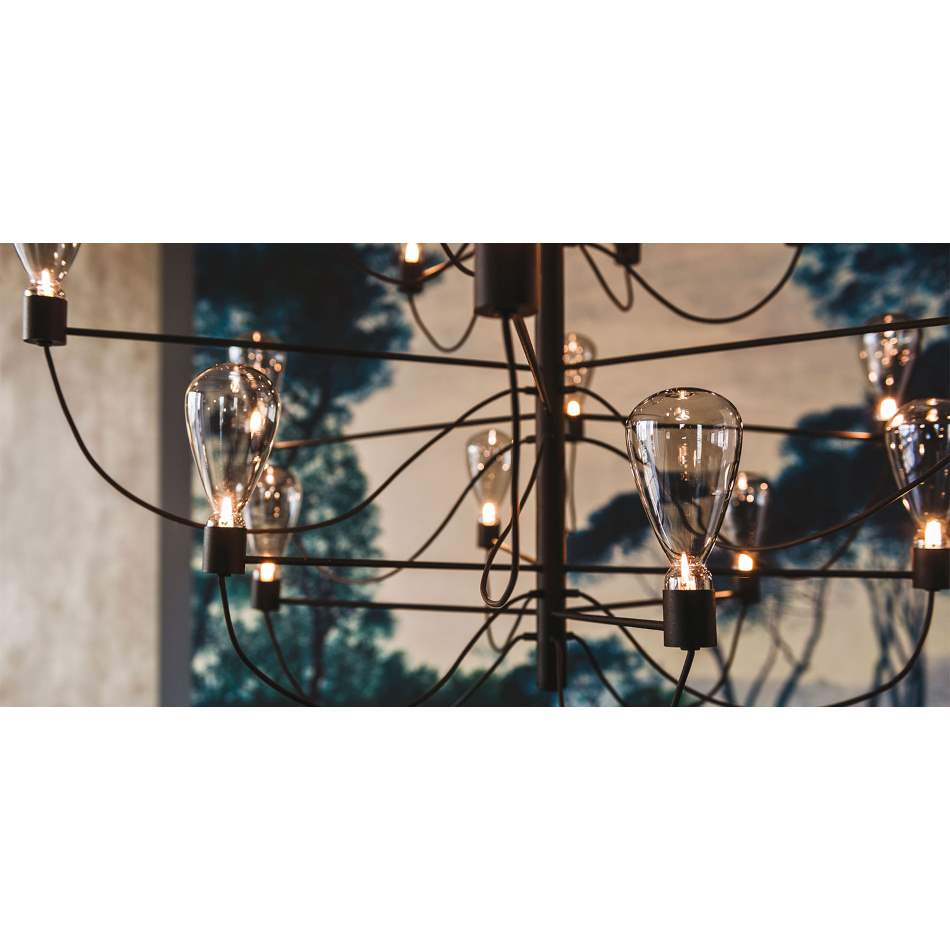 Designer lighting fixture made in Italy by Cattelan Italia