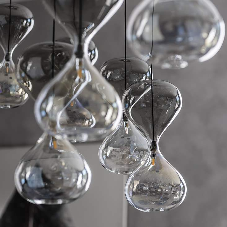Designer Italian glass lamps
