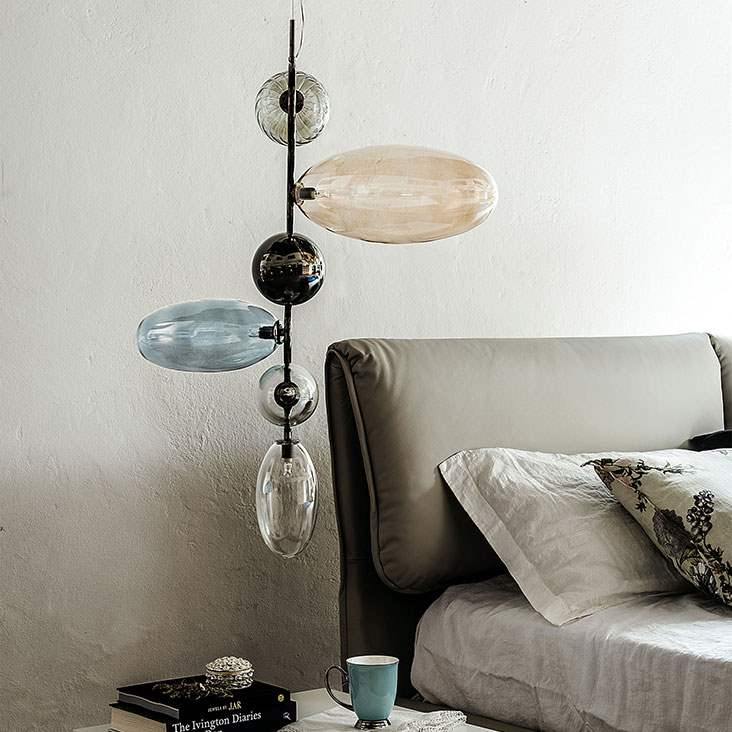 Topaz - Ceiling lamp  with Italian  styling by  Cattelan Italia