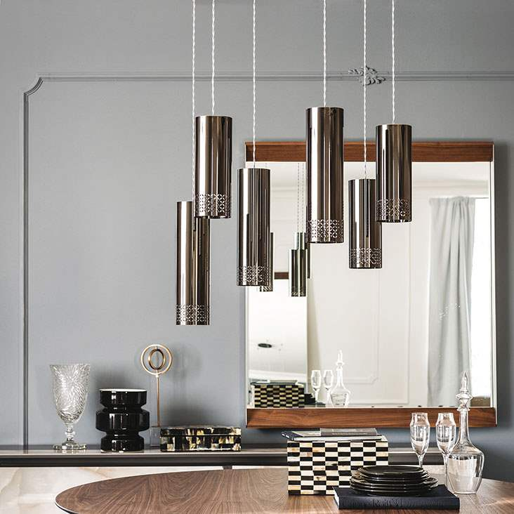 Zoom - Pendant lamps in metal  amde in Italy by Cattelan  Italia
