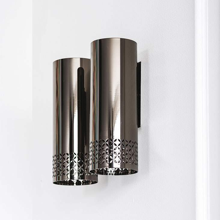 Metal wall lamps by Cattelan Italia