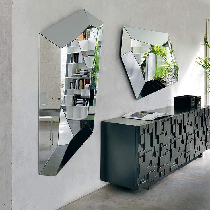 Diamond - Designer Italian mirror by Cattelan Italia
