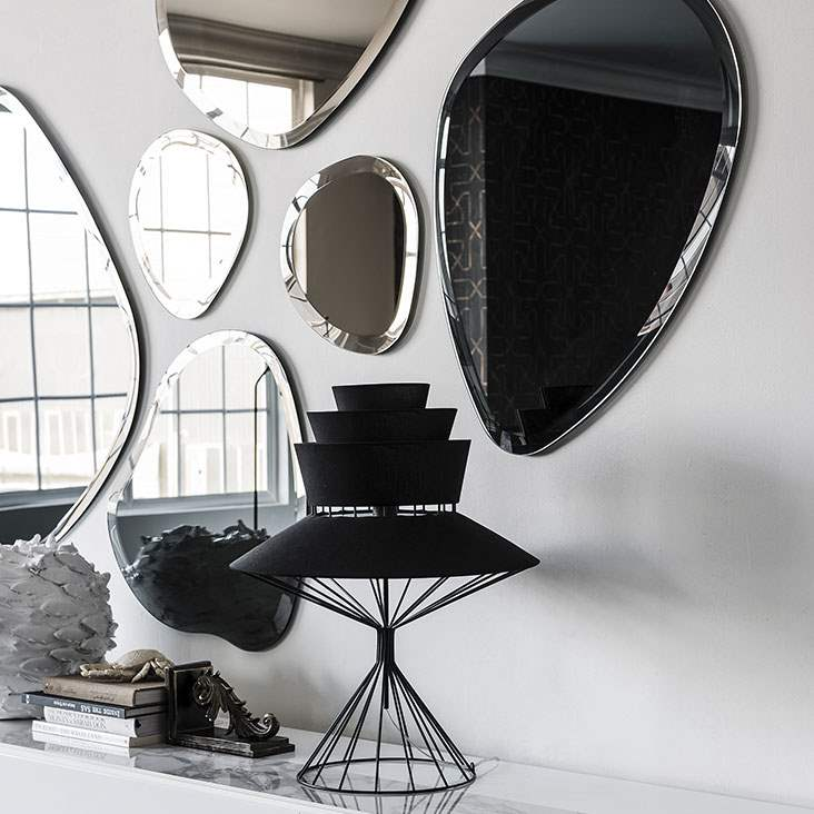 Hawaii - Modern mirror with various shapes by Cattelan Italia