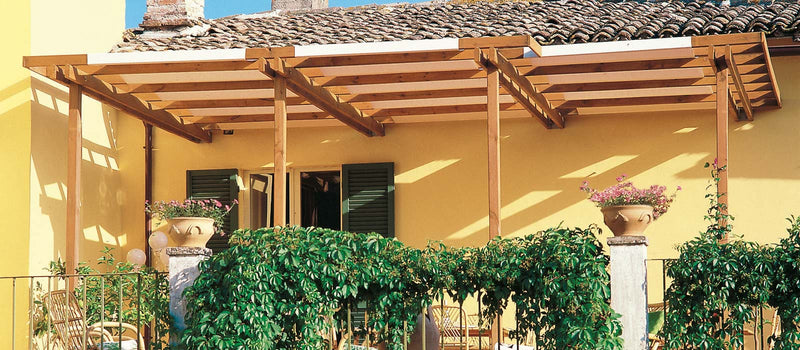 Classique Wooden Pergola - Modern Furniture | Contemporary Furniture - italydesign