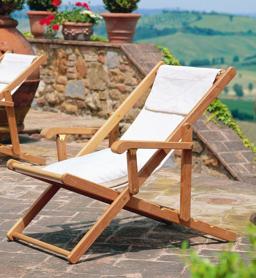 Fabulous Clio Deck Chair Ncnpc Chair Design For Home Ncnpcorg