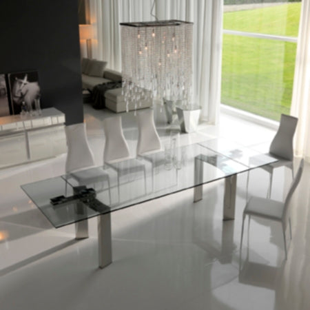 Daytona Expandable Dining Table - Modern Furniture | Contemporary Furniture - italydesign