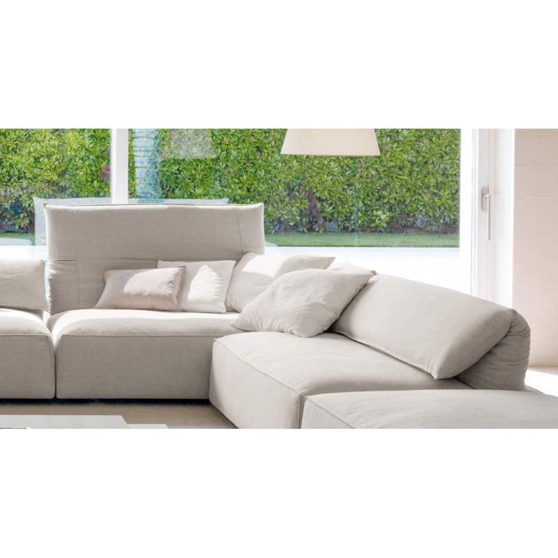 Freemod sectional sofa in white