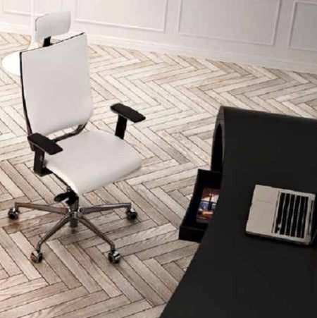 office in Italy with desk and office chair