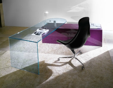 Mirage Scrivania Desk - Luxury office  furniture by  Reflex