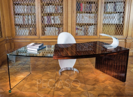 Pegaso Desk - Luxury Italian desk by Reflex