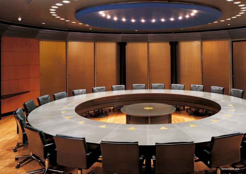 Verona Conference Table - Modern leather conference  table made in  Italy