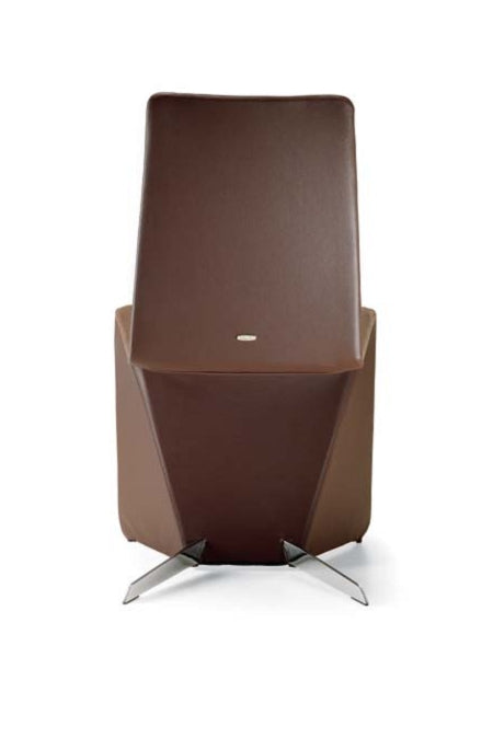 Patricia Dining Chair - soft leather dining chair made in Italy by Cattelan Italia