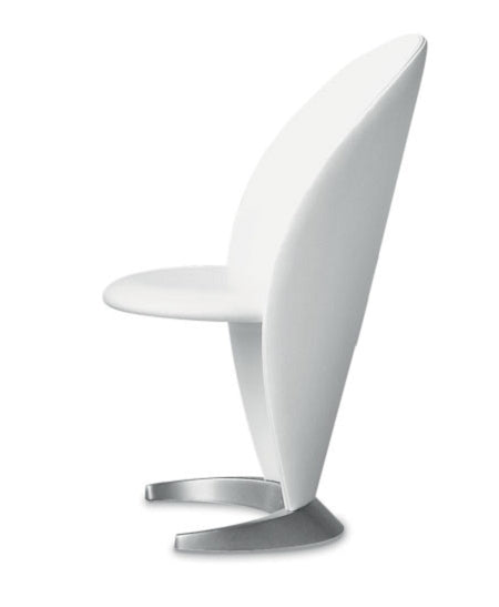Petalo luxury armchair in white