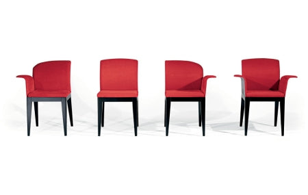 Sit Dining Chair in red