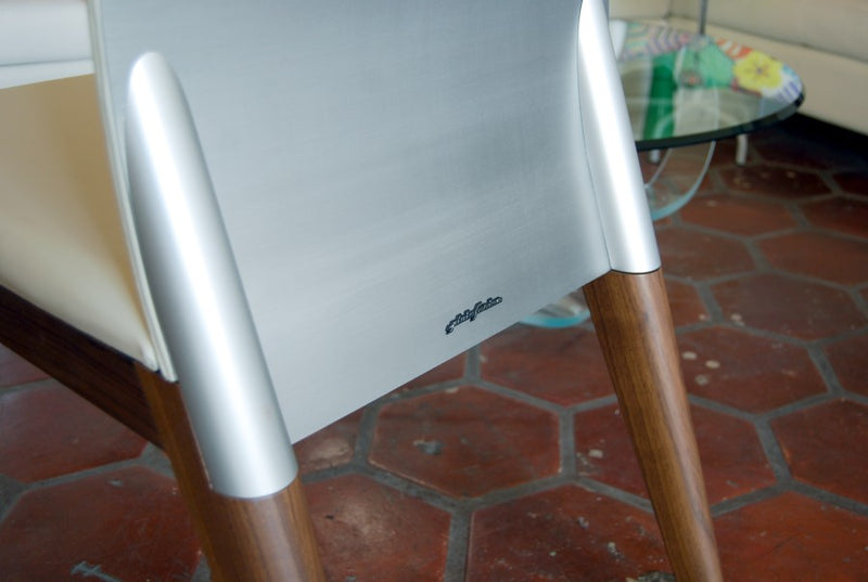 Rear-view of Sit Dining Chair by Pininfarina