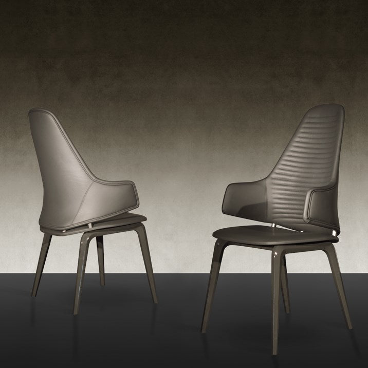 Vela Alta Dining Chair - Luxury modern dining chair designed by Pininfarina for Reflex and made in Italy