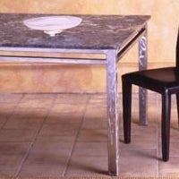 Modern Art Lava Stone End Table Collection - italydesign.com