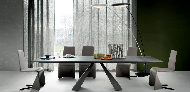 Elliot Drive Table - Modern Expanable dining table made in Italy by Cattelan Italia