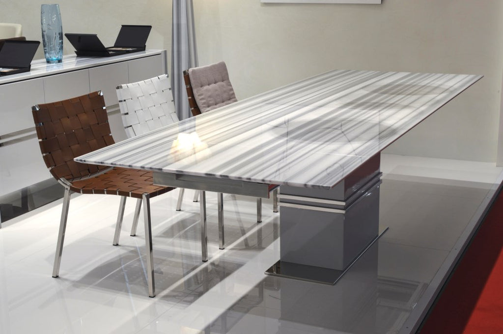 S Expandable Marble Table - italydesign.com