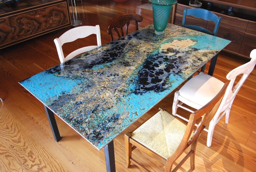 Ceramic Stone Modern Art Dining Table Collection