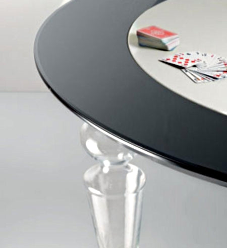 Poker Dining Table - designer Italian poker table made by Reflex