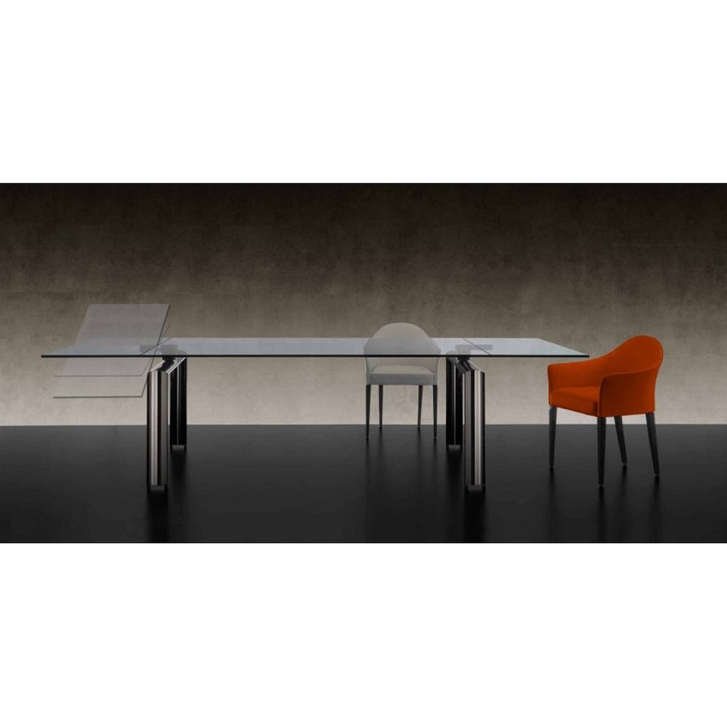 Policleto Mega Expandable Glass Table