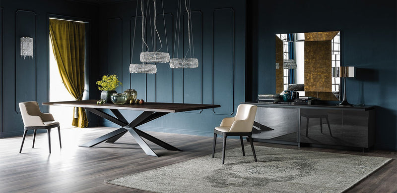 Spyder Wood Dining Table - italydesign.com