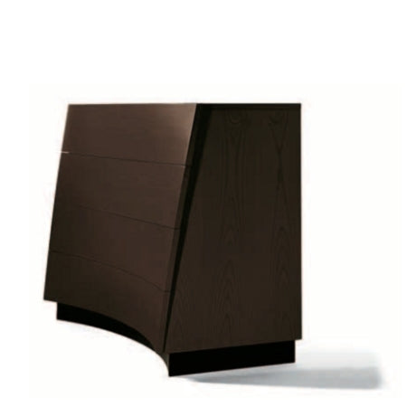 Ventaglio Dresser - Luxury dresser  with rounded shape  by Reflex
