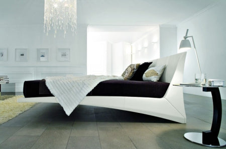 Dylan Bed - Modern  Bed   with cantilvere design by Cattelan Italia