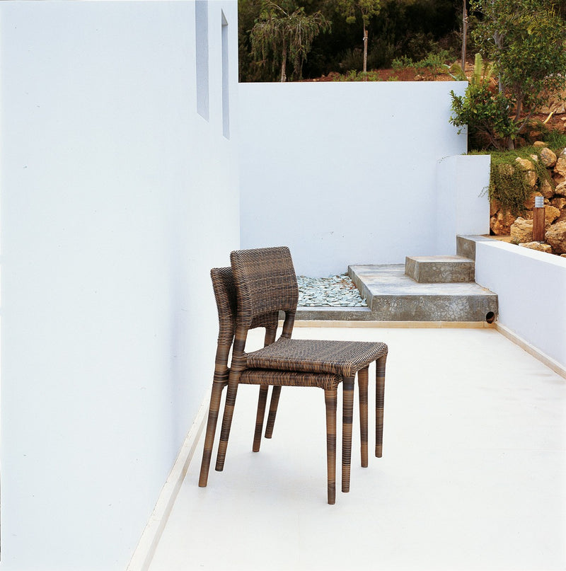 Eden Chair against white wall in Italy