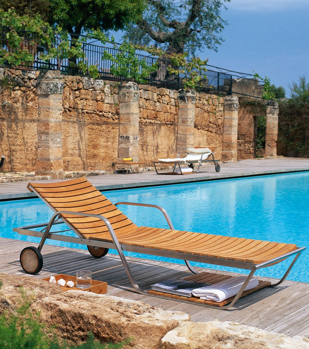 Equinox Sun Lounger - Modern Furniture | Contemporary Furniture - italydesign