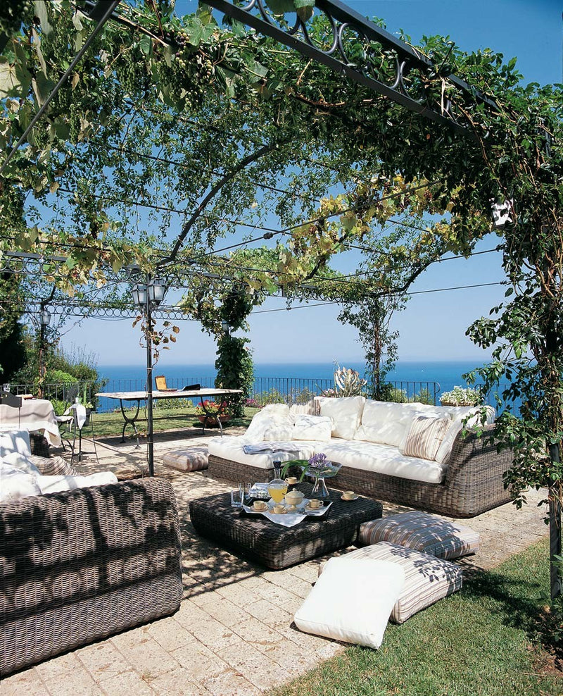 Ermitage Metal Pergola - Modern Furniture | Contemporary Furniture - italydesign