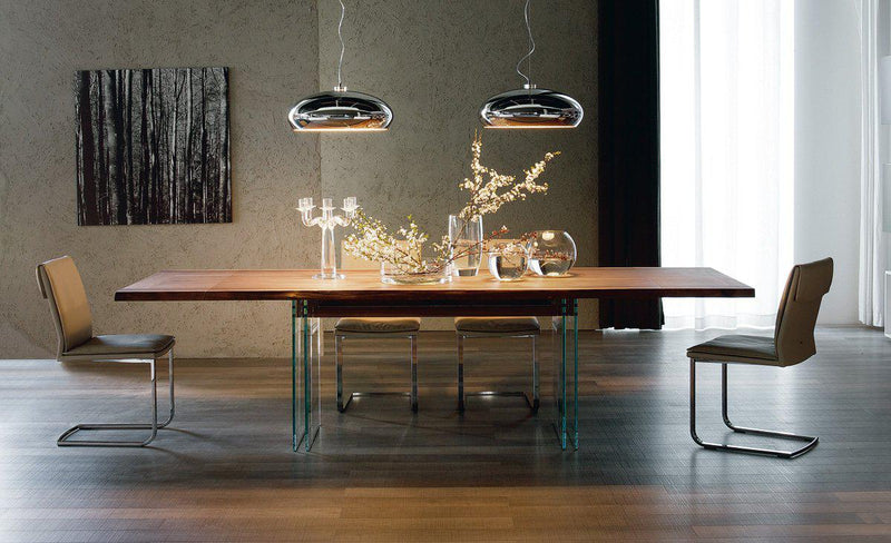 Ikon Drive Expandable Table - Expandable dining table  by Cattelan Italia