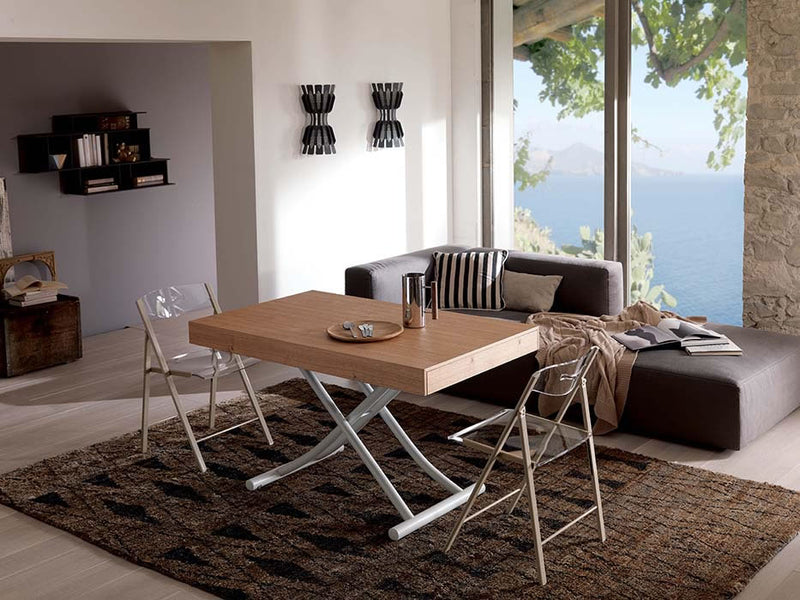 Expandable dining table by Ozzio Italia